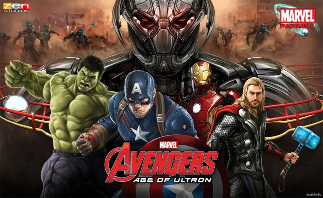 Zen Pinball will add an Avengers: Age of Ultron table later this month