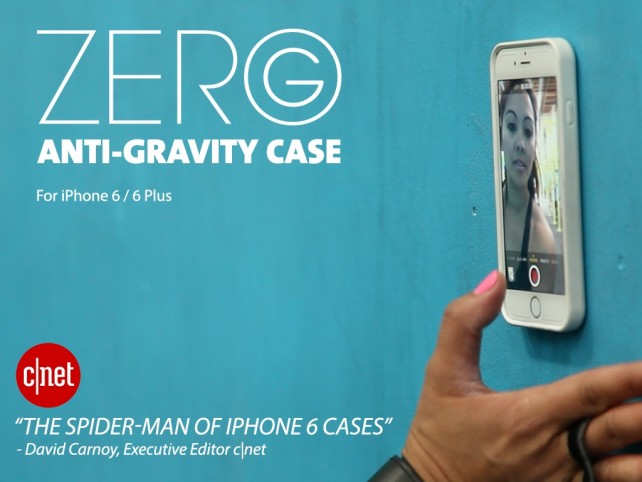 Zero G Anti-Gravity case lets you stick your iPhone almost ...