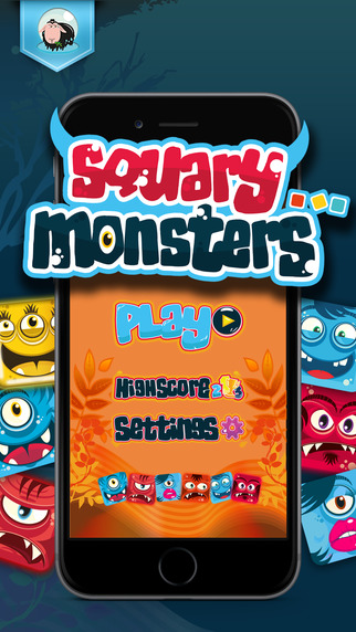 Capture as many Squary Monsters as you can in this light, new game