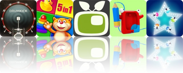Todays apps gone free: DrumKick, Playroom, Video in Video and more