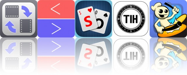 Today's apps gone free: Video Rotate and Flip, Teggle, Pocket Solitaire and more
