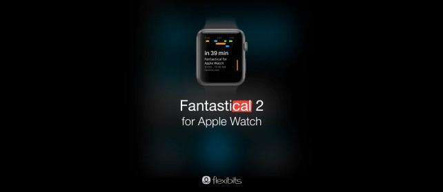 Flexibits teases an Apple Watch version of its Fantastical 2 calendar app