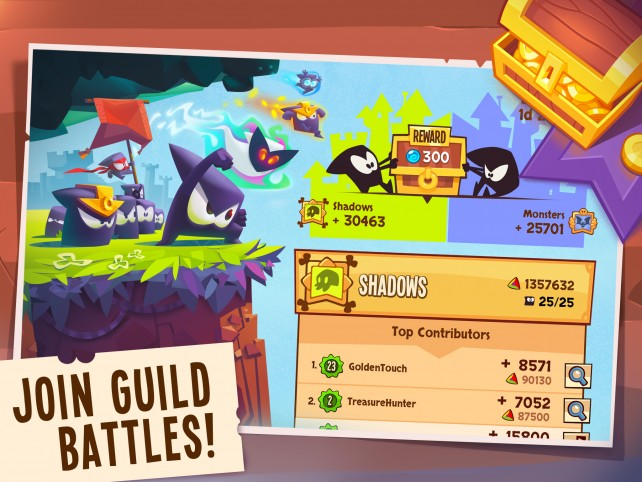 A new update to King of Thieves ushers in guild battles and more