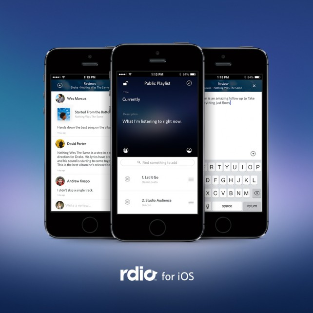 Rdio Select takes aim at Apple Music and other competitors