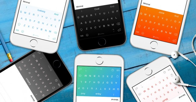 Third-party iOS 8 keyboard SwiftKey is updated with a number of new themes