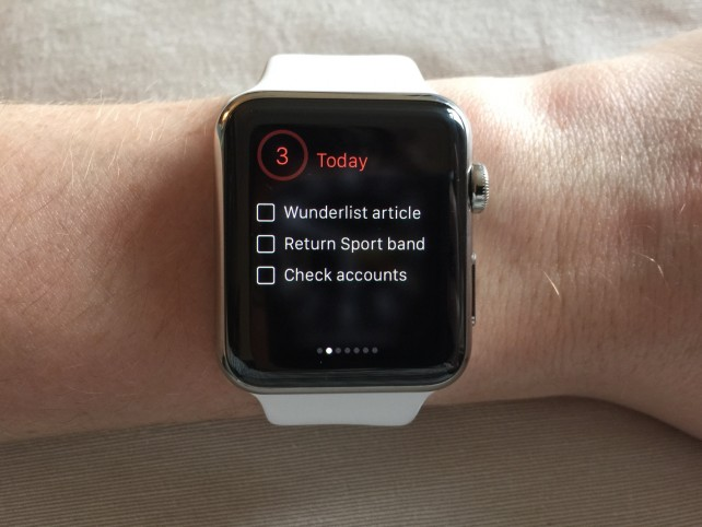 Wunderlist's Watch app is now better than ever, and its iOS app gets enhanced accessibility
