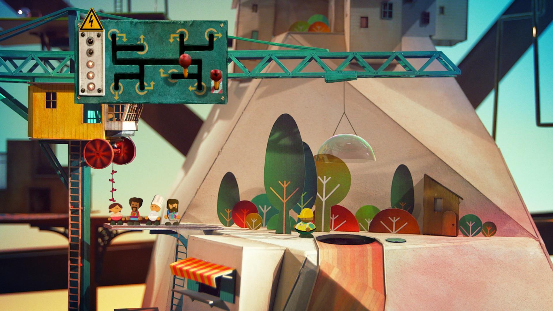 Lumino City for iOS Prepare to explore a garden in the sky