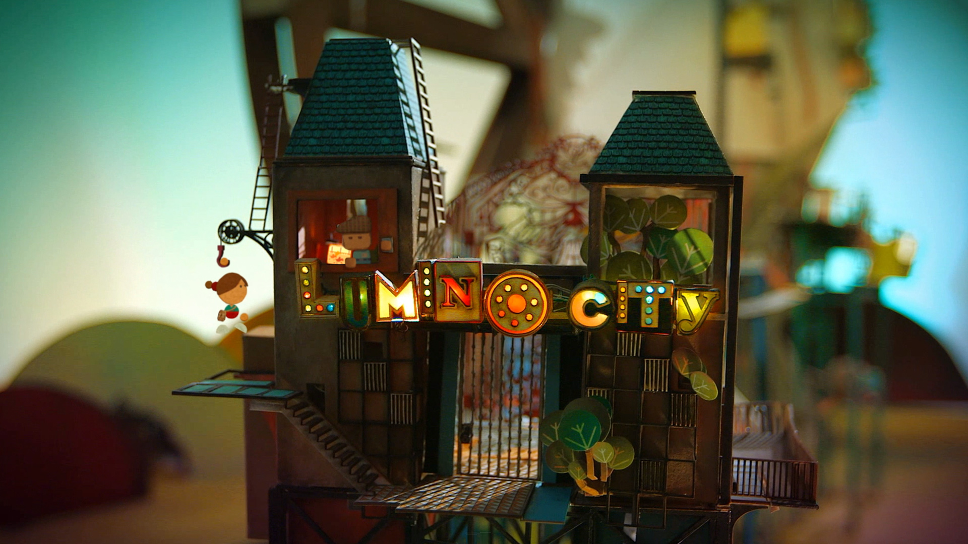 Lumino City for iOS: Prepare to explore a garden in the sky