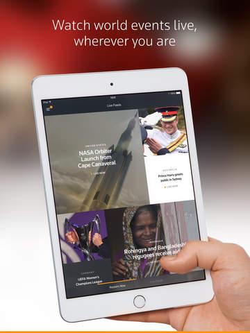 Reuters TV, Watch on iPad