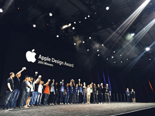 Apple announces the winners of the 2015 Design Award at WWDC