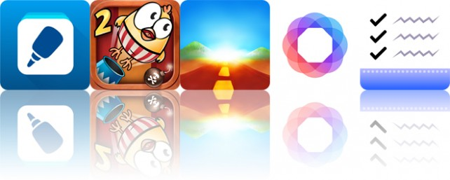 Todays apps gone free: Pasteasy, Drop The Chicken 2, Endless and more