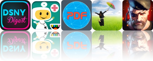 Todays apps gone free: DSNY Digest, Toca Doctor, Web To PDF and more