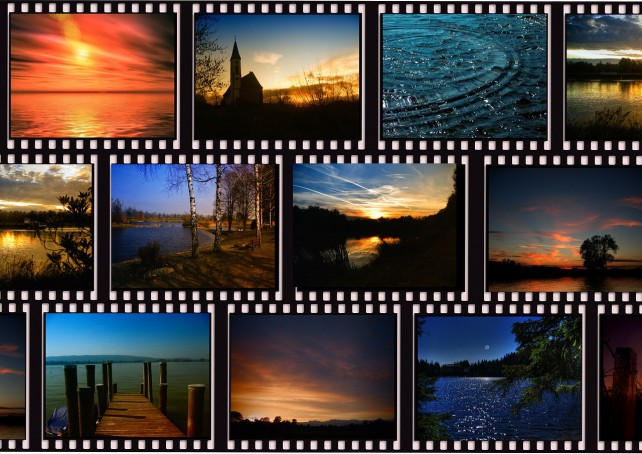 Relax and view widescreen shows of your photos with Wideshow