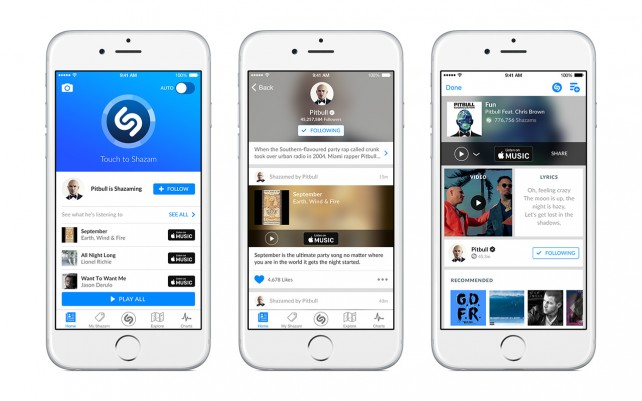 Find out what music stars listen to with Shazam's update