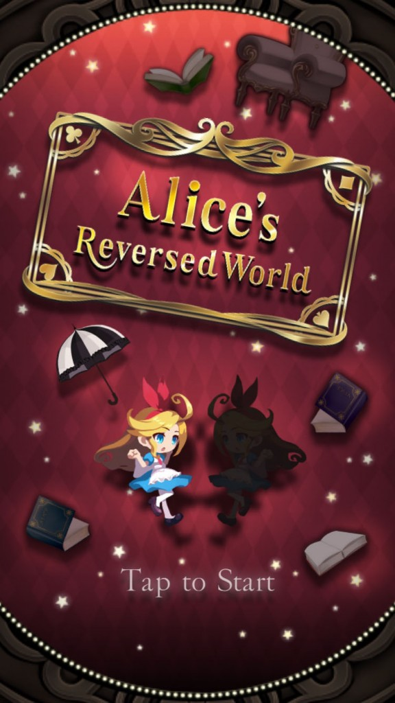 Left is right in Alices Reversed World, a tricky puzzler