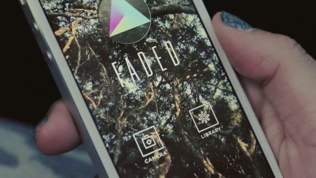 Faded makes editing photos with film-inspired looks easier