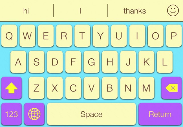 Color your keyboard with your mood using Photokeys