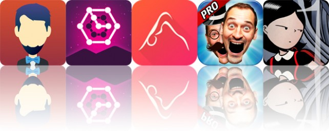 Today's apps gone free: Who Was?, Glow Puzzle, 3D Yoga Anatomy and more