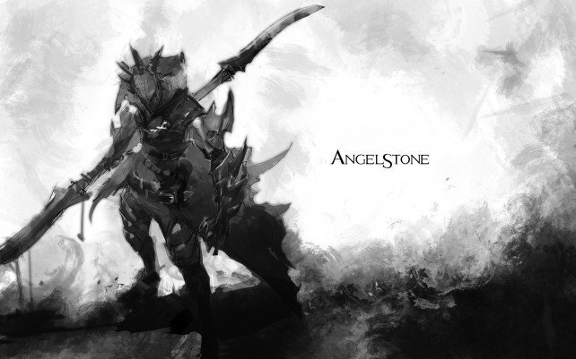 Hack and slash through your deadly oppressors in Angel Stone