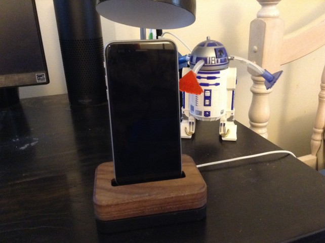 Grovemade's Dock for iPhone nestles your handset with love