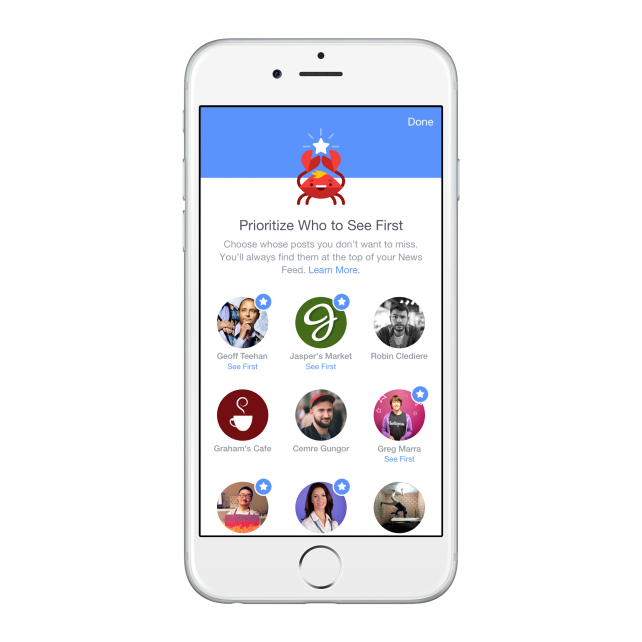 Finally, your Facebook News Feed your way, on iOS today