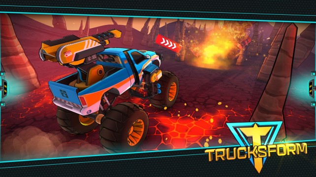 Drive, shoot and fly to save the world in Trucksform