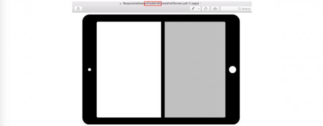 Good news: iPad mini 4 should support split-view multitasking