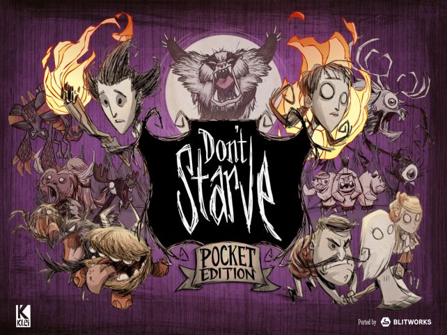 Now Dont Starve: Pocket Edition tests you on your iPhone