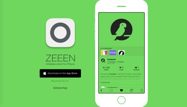 ZEEEN for iOS.