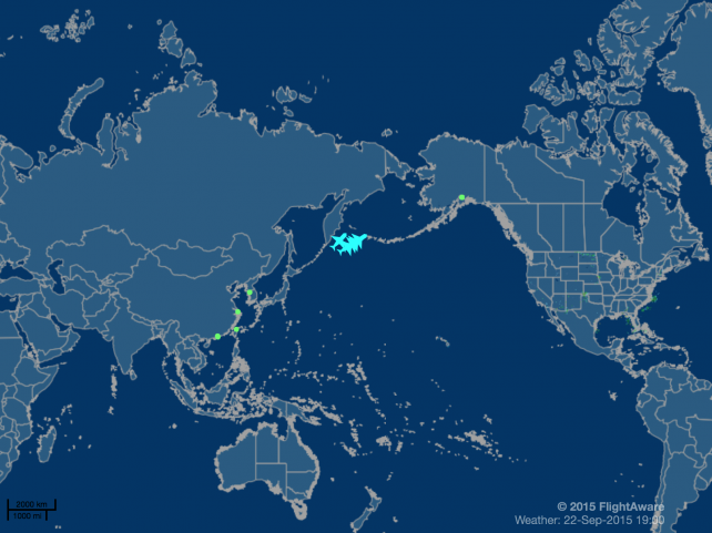 Once again, you can track your new iPhone's transit using FlightAware