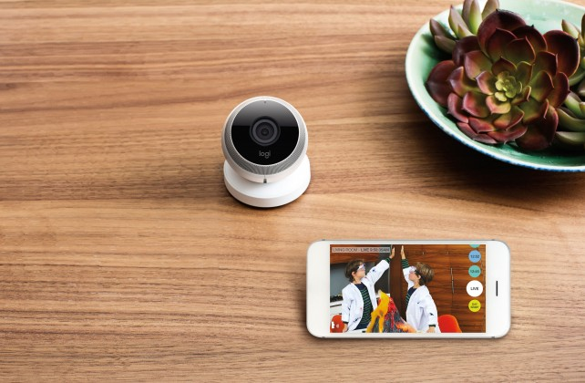 Logitech branches out with its new Logi Circle home monitoring camera