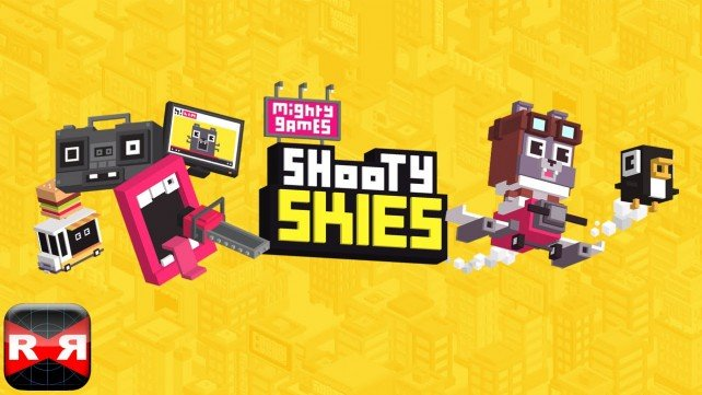 You'll get plenty of dogfighting thrills out of Shooty Skies