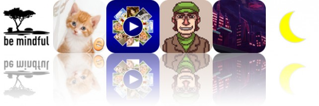 Todays apps gone free: Be Mindful, Jigsaw Wonder Kittens, FunSlides HD and more