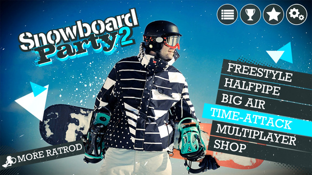 There are plenty of different game modes in Snowboard Party 2 for iOS.