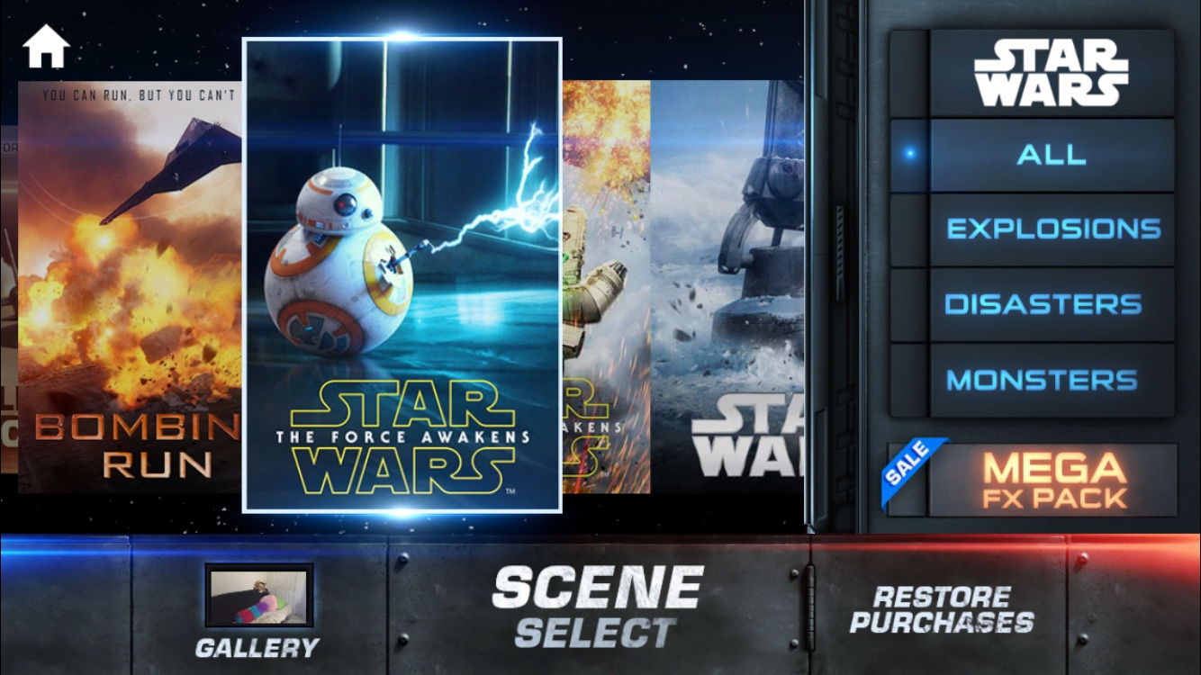 Star Wars - Action Movie FX App - How to create your own ...