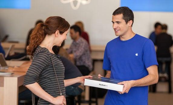 Apple Individual Pickup gifting