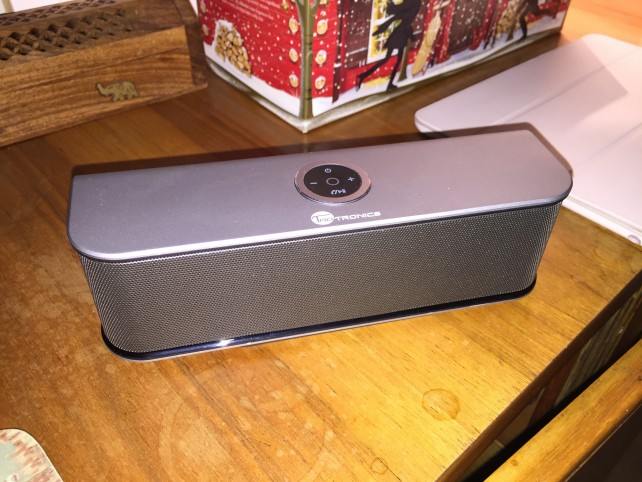 TaoTronics' speaker from the front.