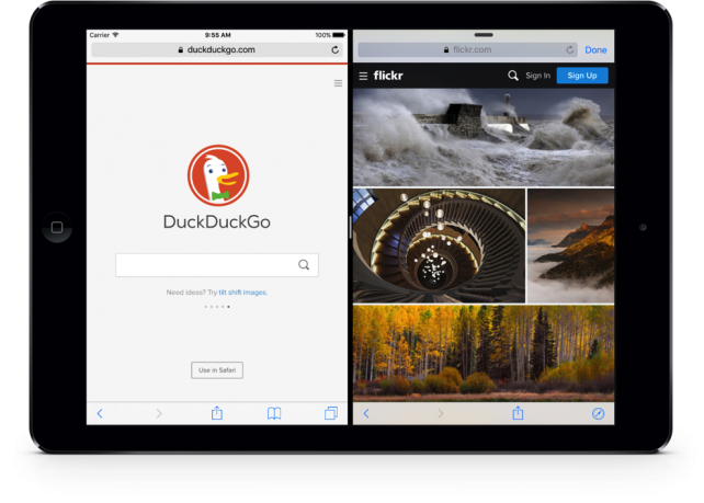Sidefari lets iPad owners display two Safari Web pages side-by-side