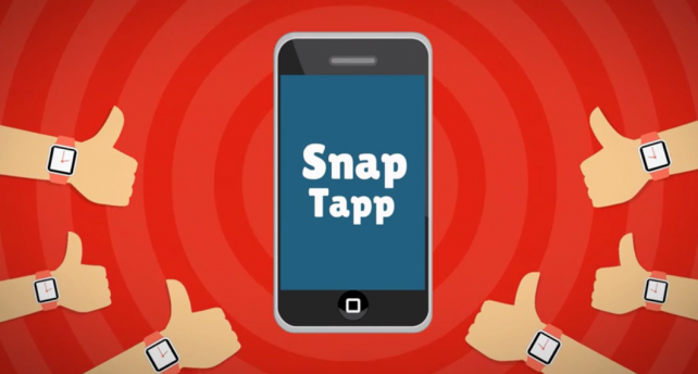 Tap your hand to take a selfie with Snap Tapp on Apple Watch