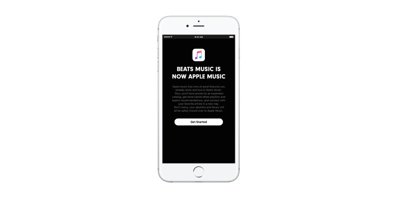 Beats Music is now Apple Music iPhone