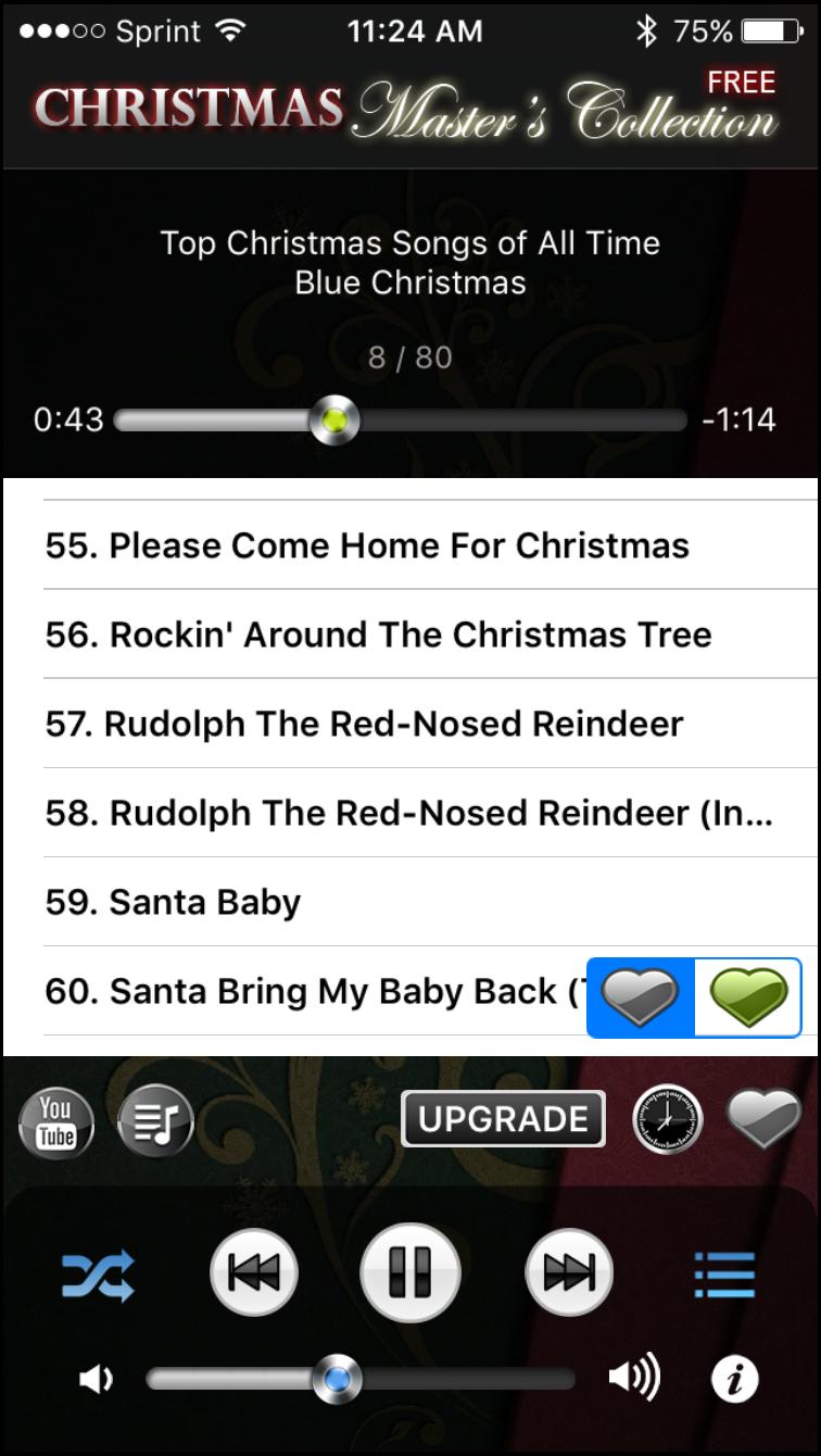 Make it a jolly holiday singing Top Christmas Songs, Music & Carols
