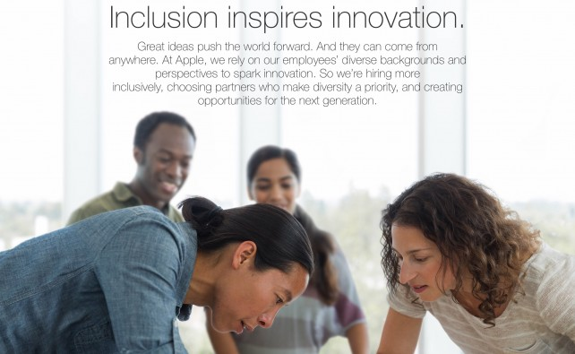Apple could be pushed to bring racial diversity to its leadership team