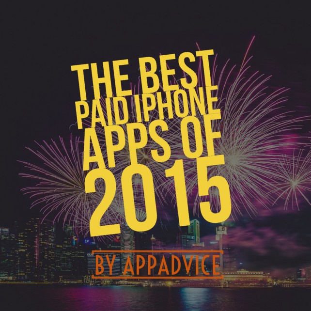 AppAdvice's top 10 paid iPhone apps of 2015