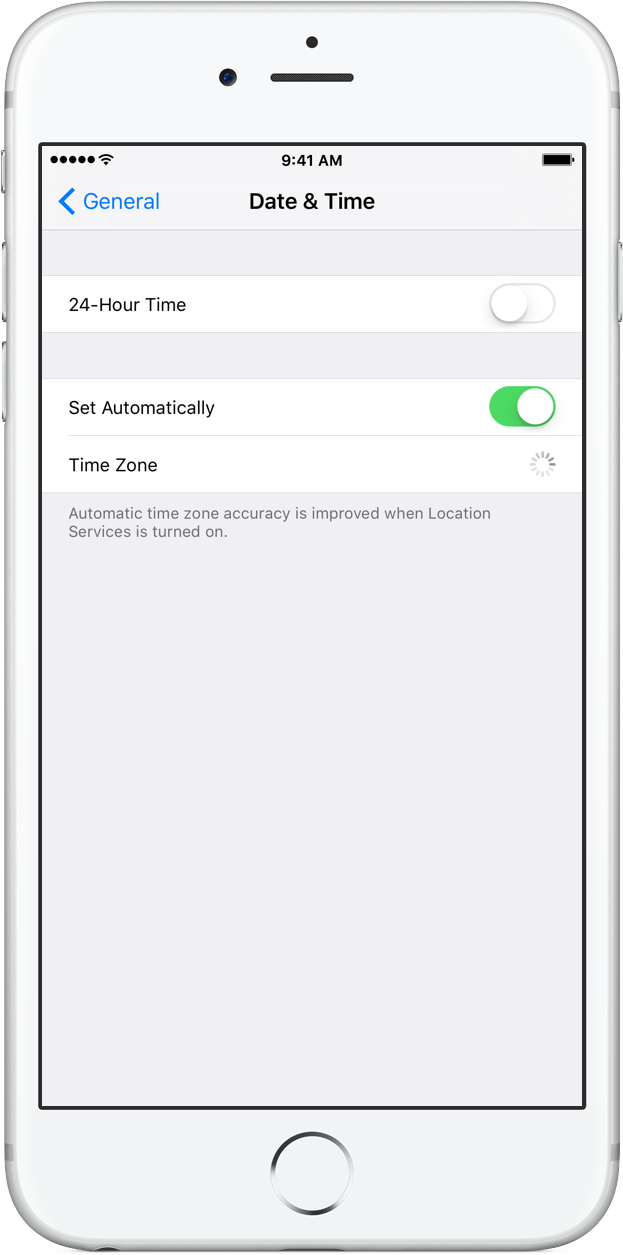 how to change time and date on iphone