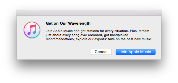 Join Apple Music Mac
