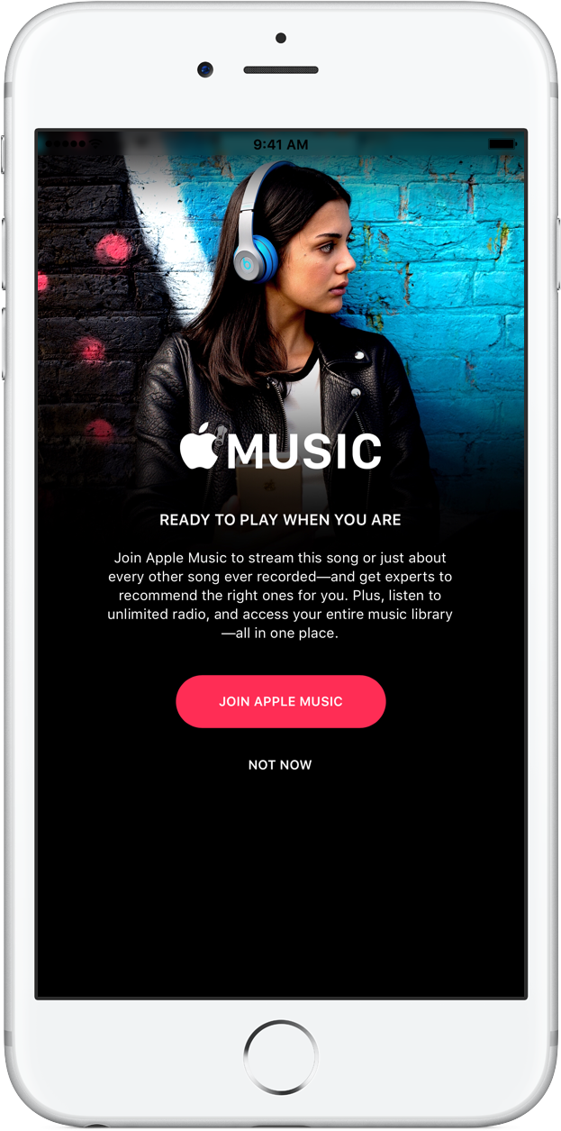 Join Apple Music join