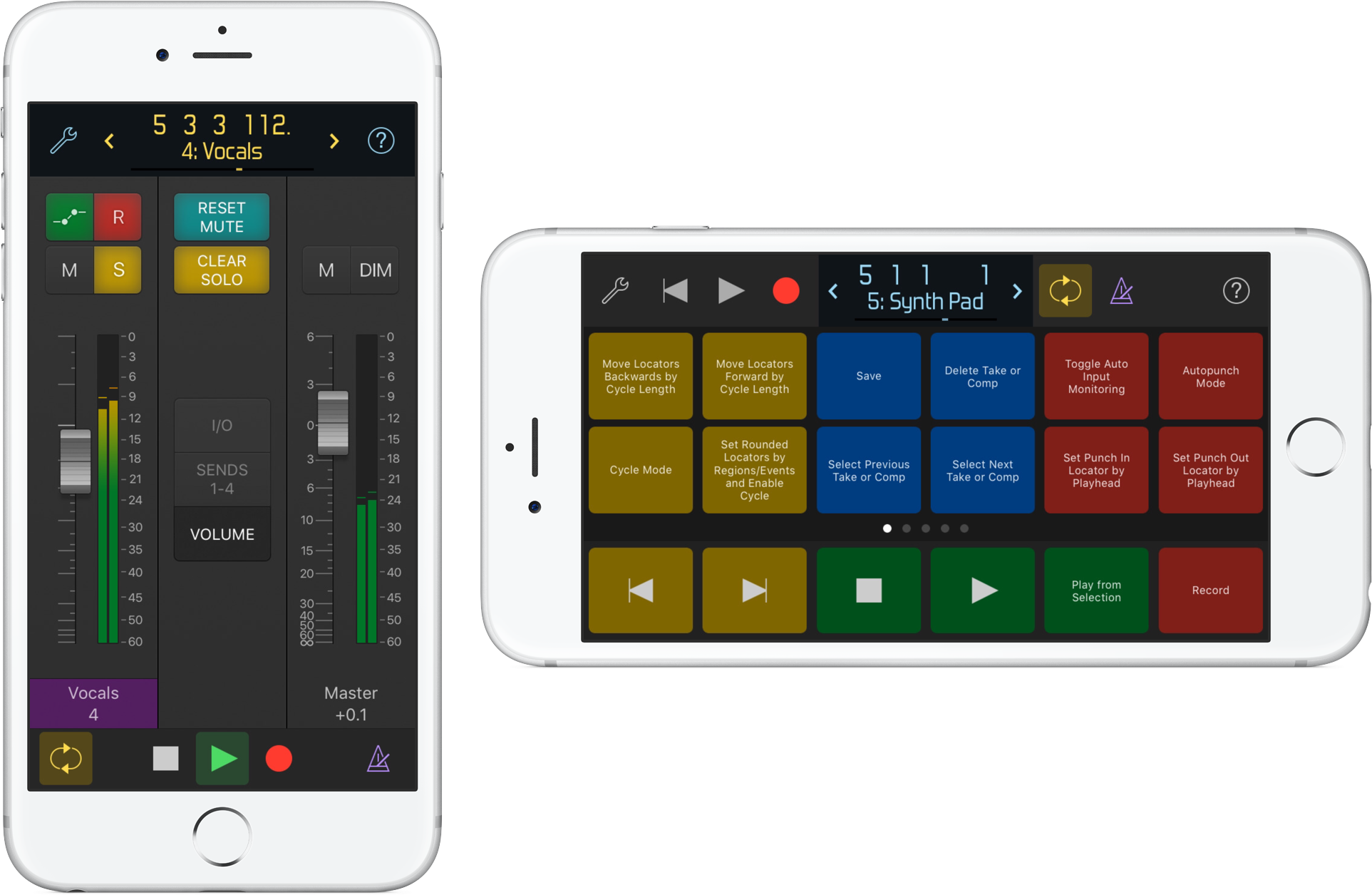 Logic Remote iPhone