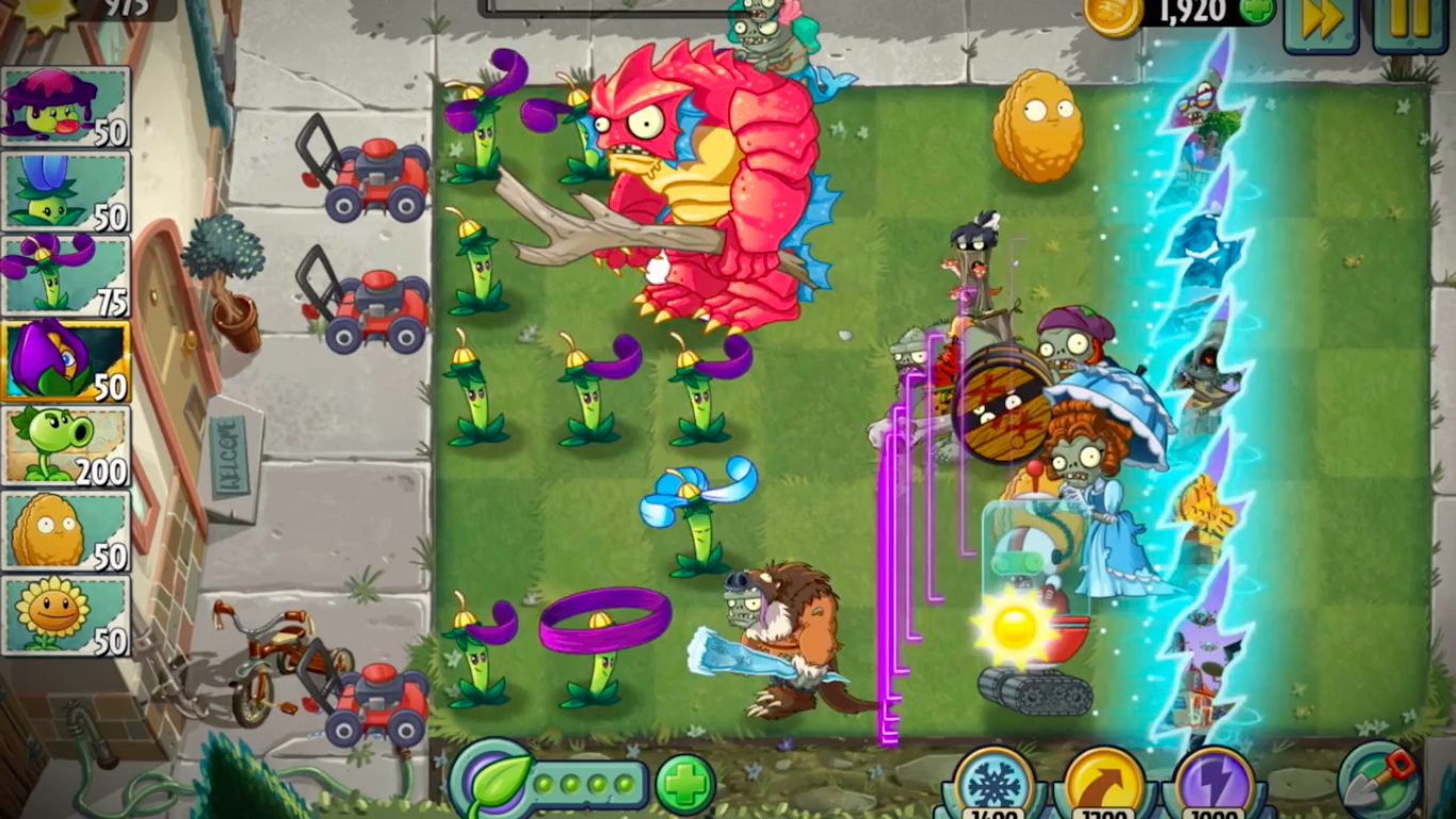Back to the future plants vs zombies 2 returns to modern day voltagebd Choice Image