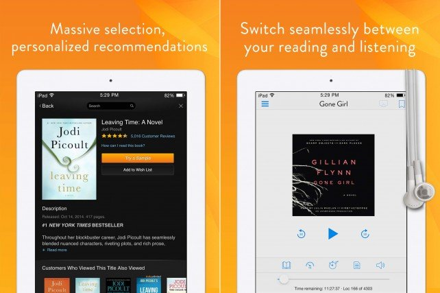 Kindle for iOS.