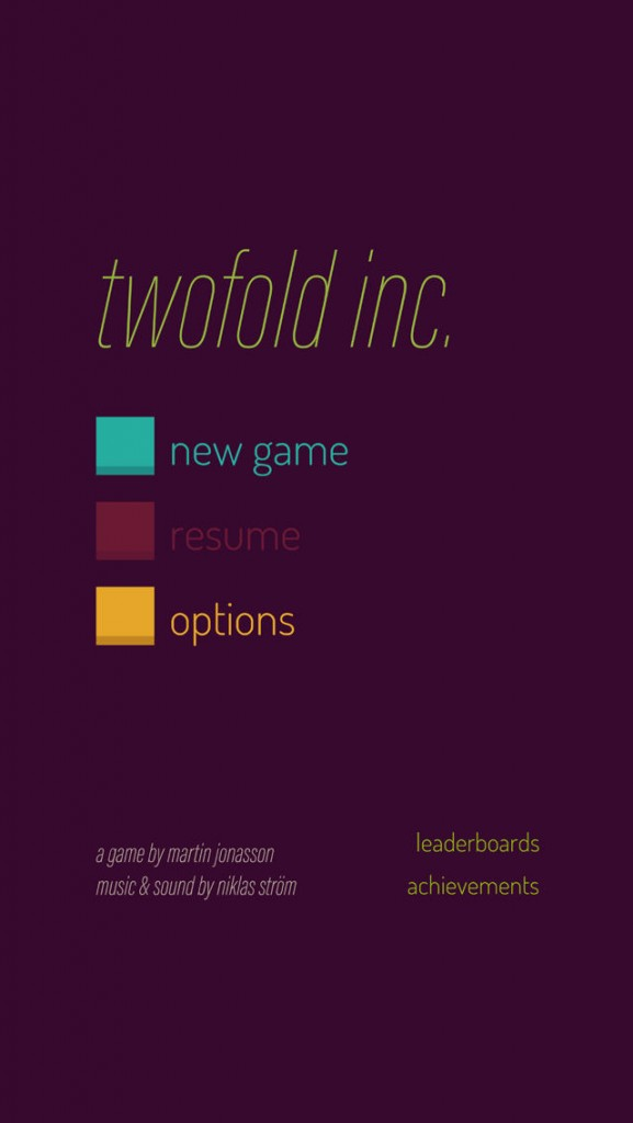 twofold inc. , games for ios, puzzle games, strategy games